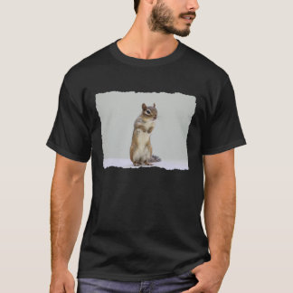 Chipmunk Standing Up Photo T-Shirt