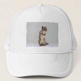 Chipmunk Standing Up Photo Trucker Hat