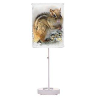 Chipmunk Table Lamp