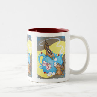Chipmunk Tea Party Mug