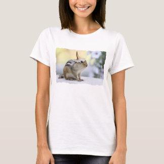 Chipmunk Wearing Flower Party Hat T-Shirt