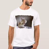 Chipmunk with Cheeks Full Photo T-Shirt