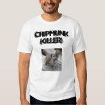 ¡chipmunks7, ASESINO del CHIPMUNK! Remeras