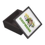 Chipmunks, caja de regalo caja de joyas de calidad