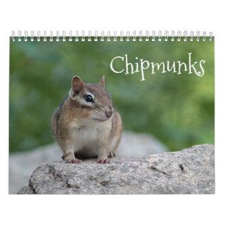 Chipmunks Calendar