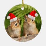 Chipmunks del bebé de Santa Adorno De Reyes