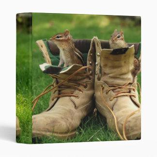 """Chipmunks in Old Boots 1"""" Photo Album Binder"""