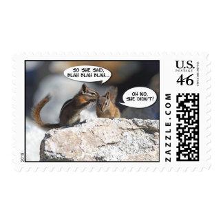 Chipmunks Juicy Gossip Postage