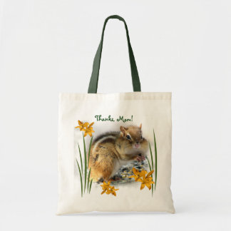 Chipmunk's Mother's Day Budget Tote Bag