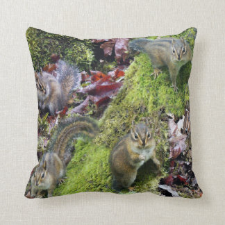 Chipmunks Pillow