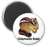 Chipmunks Rule! Refrigerator Magnet