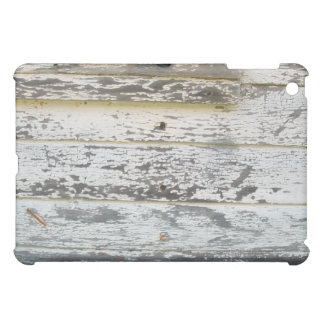 Chipped Paint White Wood Boards iPad Case