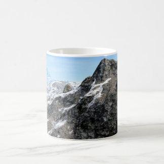 Chipped Rock Formation Coffee Mug