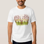 Chippendale mahogany dining chairs T-Shirt