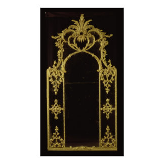 Chippendale mirror, c.1750 poster