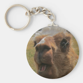 Chipper Alpaca Keychain