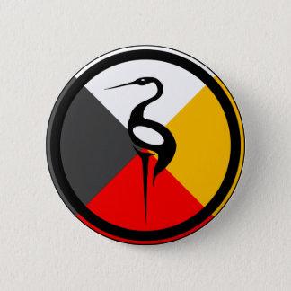 Chippewa Dodem Ajijaak Button