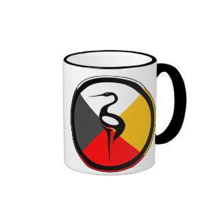 Chippewa Dodem Ajijaak Coffee Mugs