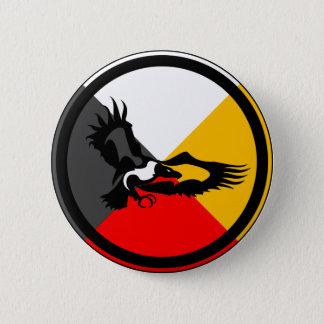 Chippewa Dodem Giniw Pinback Button