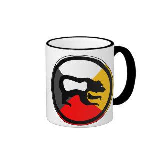Chippewa Dodem Makwa Coffee Mugs