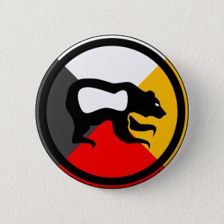 Chippewa Dodem Makwa Pinback Button
