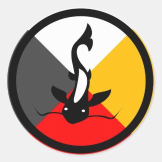 Chippewa Dodem Manaameg Classic Round Sticker