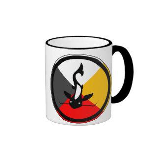 Chippewa Dodem Manaameg Ringer Mug