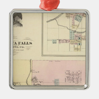 Chippewa Falls and Village of Neillsville Christmas Ornaments