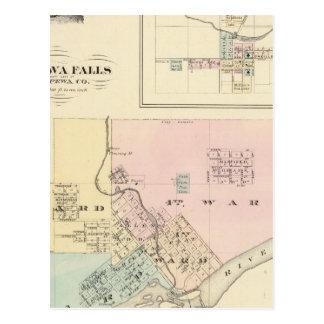 Chippewa Falls y pueblo de Neillsville Postales