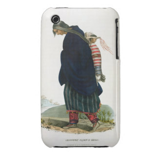 Chippeway Squaw and Child, pub. by F.O.W. Greenoug iPhone 3 Covers