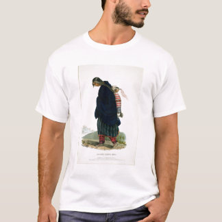 Chippeway Squaw and Child, pub. by F.O.W. Greenoug T-Shirt