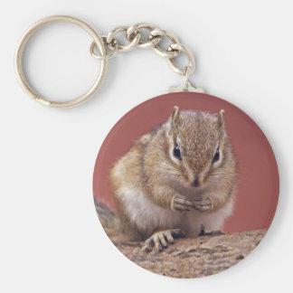 Chippie Keyring Basic Round Button Keychain