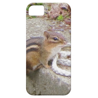 Chippie The Chipmunk Investigates A Rope iPhone 5 Cover