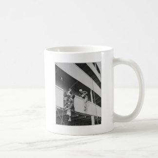Chipping Slag Off a Ship Coffee Mug