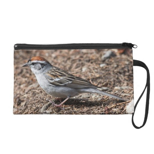 Chipping Sparrow Wristlet Purses