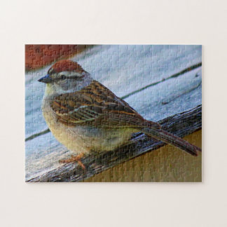 Chipping Sparrow Jigsaw Puzzle
