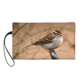 Chipping Sparrow Wristlet