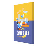 Chippy Tea Canvas Print