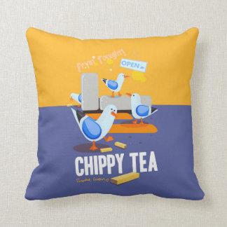 Chippy Tea Cushion Pillow
