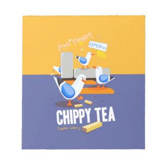 Chippy Tea Notepad