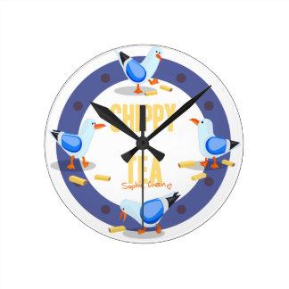 Chippy Tea Wall Clock
