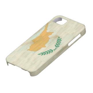Chipre apenó la bandera chipriota iPhone 5 fundas