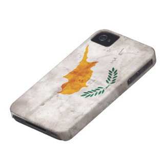 Chipre; Bandera chipriota iPhone 4 Case-Mate Protector
