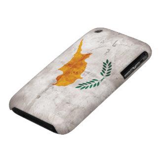 Chipre; Bandera chipriota iPhone 3 Case-Mate Cárcasas