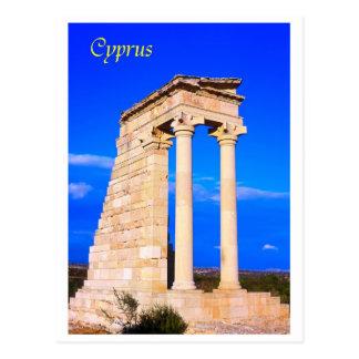 Chipre el templo de Apolo Postales