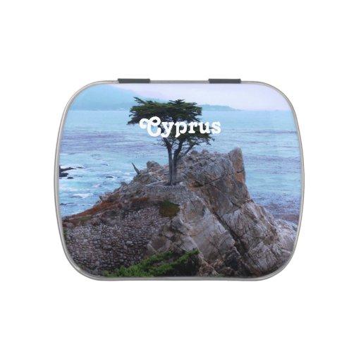 Chipre Frascos De Dulces