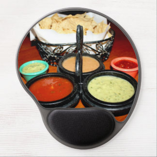 Chips And Salsa Gel Mouse Pad