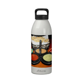 Chips And Salsa Reusable Water Bottles