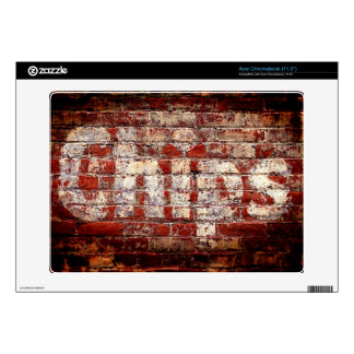 Chips Brick Wall Acer Chromebook Skins