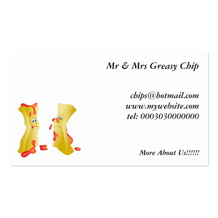 Chips Business Card